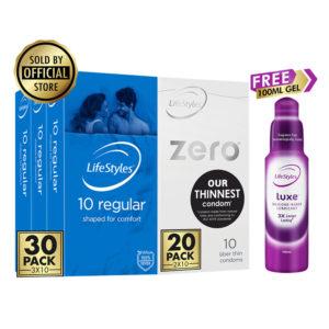 lifestyles condoms plus zero condoms plus gel