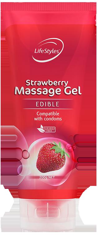 Strawberry Massage Gel
